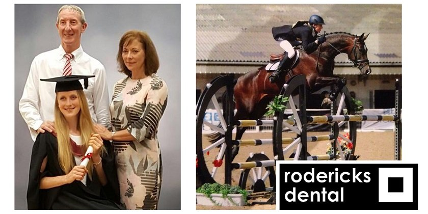 Charlotte Monk, Foundation Dentist at Rodericks Dental's Mile House Dental Practice, discusses how the group has supported her in finding a balance between dentistry and participating in dressage at an international level.